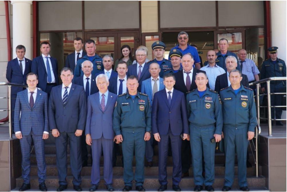 Руководитель Росводресурсов Д.М. Кириллов принял участие в межведомственном совещании по вопросам предотвращения чрезвычайных ситуаций природного характера в Республике Дагестан