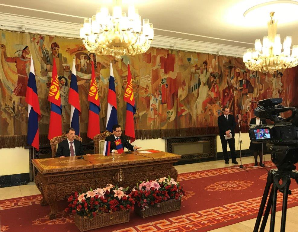 Представитель Росводресурсов принял участие в 22-м заседании Межправительственной Российско-Монгольской комиссии по торгово-экономическому и научно-техническому сотрудничеству