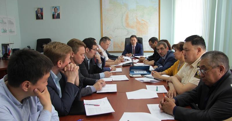 В Ленском БВУ состоялось заседание Межведомственной рабочей группы по регулированию режимов работы Вилюйского водохранилища